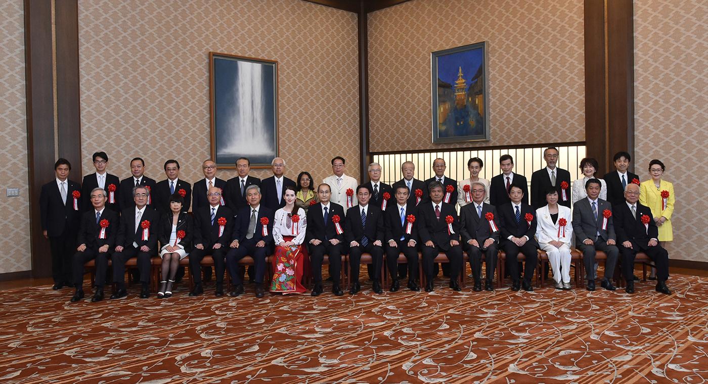 平成28年度外務大臣表彰(平成27年7月20日)
